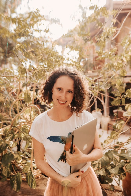 Grace Molan copywriter working with eco conscious brands to build their brand voice